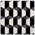 rug #1166739 | square black retro rug
