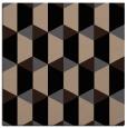 rug #1166747 | square beige geometry rug