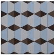 rug #1166843 | square blue-violet retro rug