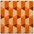 rug #1167011 | square red-orange rug