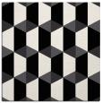 rug #1167023 | square black rug