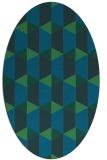 rug #1167167 | oval rug