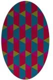 rug #1167223 | oval rug