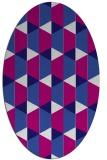 rug #1167302 | oval geometry rug