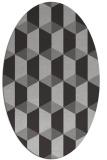 rug #1167323   oval orange popular rug