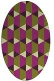 rug #1167350 | oval geometry rug
