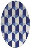 rug #1167399   oval white rug