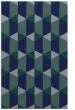 rug #1167511 |  blue retro rug