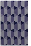 rug #1167559    blue-violet rug