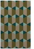 rug #1167583 |  mid-brown retro rug