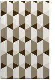 rug #1167631 |  mid-brown retro rug
