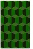 rug #1167675    green geometry rug