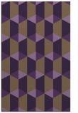 rug #1167719 |  purple geometry rug
