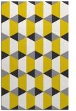 rug #1167795 |  yellow popular rug