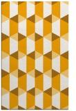 rug #1167823 |  light-orange retro rug