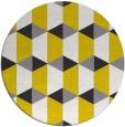 rug #1168030 | round retro rug