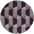 rug #1168091 | round purple retro rug