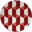 rug #1168106   round retro rug