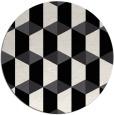 rug #1168127   round black popular rug