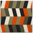 rug #1168599 | square black rug