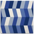 rug #1168623 | square blue abstract rug