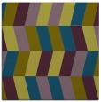 rug #1168651 | square green retro rug