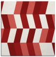 rug #1168839 | square red retro rug