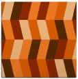 rug #1168851 | square red-orange abstract rug