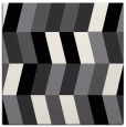 rug #1168863 | square black abstract rug