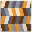 rug #1168939 | square light-orange abstract rug