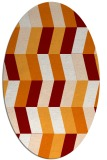 rug #1169156 | oval abstract rug