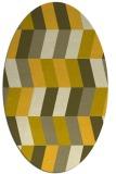 rug #1169261 | oval abstract rug