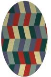 rug #1169276 | oval abstract rug