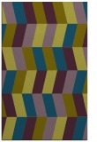 rug #1169387 |  blue-green retro rug