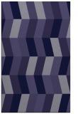 rug #1169395 |  blue-violet abstract rug