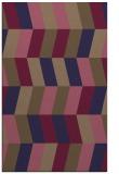 rug #1169415    blue-violet retro rug