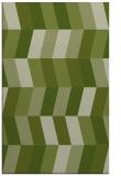 rug #1169435 |  green retro rug