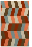 rug #1169527 |  orange retro rug