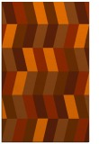 rug #1169583 |  red-orange abstract rug
