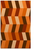 rug #1169587 |  red-orange abstract rug
