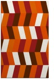 rug #1169595    red-orange abstract rug
