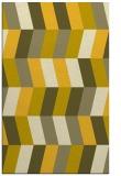 rug #1169627 |  yellow retro rug