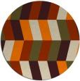 rug #1169679 | round beige popular rug