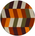 rug #1169681 | round abstract rug