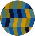 rug #1169711   round blue rug