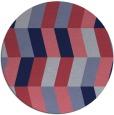 rug #1169772 | round retro rug