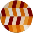 rug #1169891 | round abstract rug