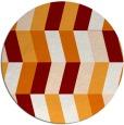 rug #1169892   round retro rug