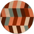 rug #1169902   round abstract rug