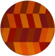 rug #1169940 | round abstract rug